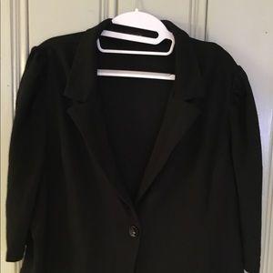 Women's plus size crop length jacket